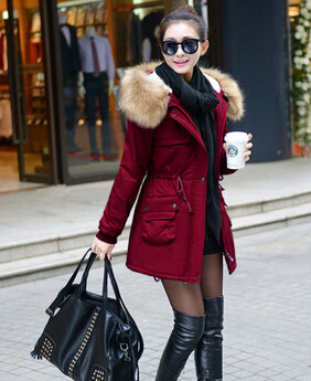 Vrouwelijke Winterjas.Winterjas Vrouwen Gewatteerd Jack Medium Lange Plus Size Nep Bont