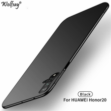 Wolfsay For Cover Huawei Honor 20 Case Ultra Thin PC Armor Hard Back Phone Nova 5T Shells