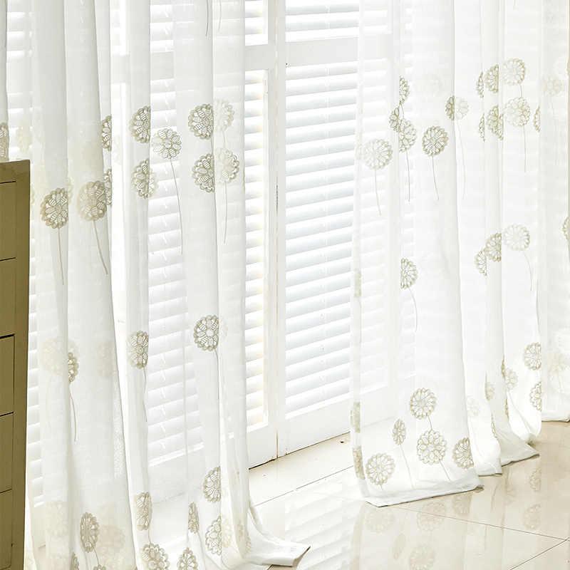 2018 直接販売特別提供窓現代の刺繍ボイル窓のカーテン子供子供ベッドルームテキスタイルためホーム