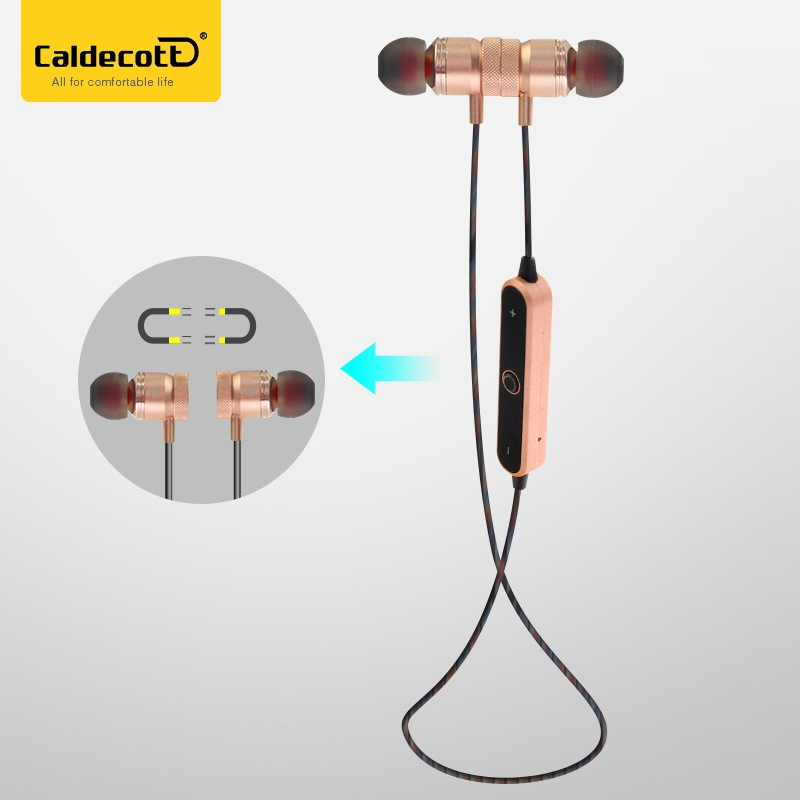 Newest Magnet Wireless Bluetooth Earphones Earbuds Stereo Music Sport Running Magnetic Earphones for Xiaomi Huawei All Phone