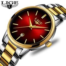 LIGE New Womens Business Quartz Watch La