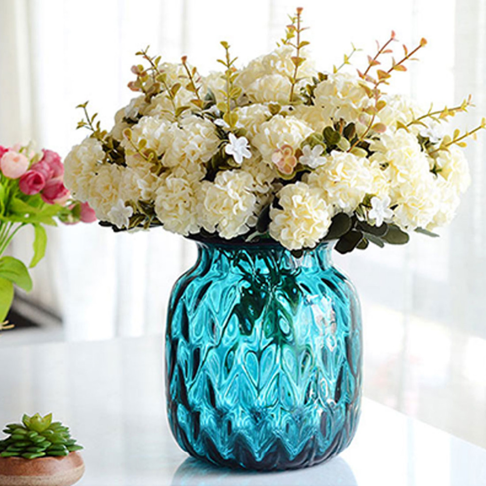 Diy Flower Bouquet Wedding: Nice Bouquet Flower Artificial Chrysanthemum Wedding