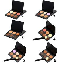 6 Colors Women Concealer Face Primer Cream Contour Palette Make Up Facial Contouring Palette Makeup cosmetics sets