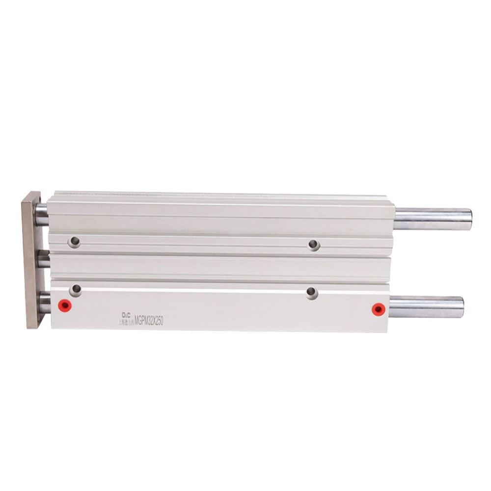 SMC MGPM12-10-20-25-30-40-50 cylindre de guidage Compact pneumatique à trois axes, composants pneumatiques à tige coulissante - 3