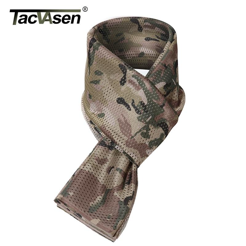 vraiment pas cher prix raisonnable prix incroyable € 7.32 40% de réduction Foulard Camouflage TACVASEN hommes foulards  tactiques militaires châles de créateur de mode écharpe Wargame chasse  foulard de ...