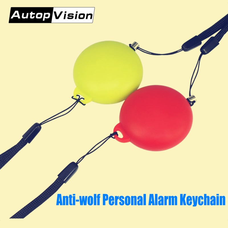 Wholesale 2018 Hot-sale Emergeny Self Defense Alarm 120dB Anti-wolf Personal Safety Alarm Keychain For Women Kids And Students