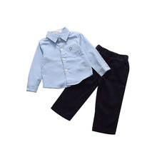 New Baby Boys 2PCS Kids Set T shirt + Pants  Drop Shipping