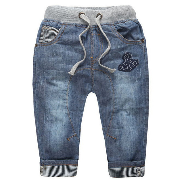 Top Quality Solft Jeans For boys Jeans For Teenagers Boys Costumes Kids Casual Denim Pants Boys jean roupas infantis menino J088