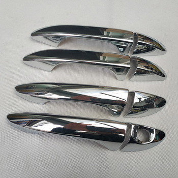 For Hyundai i20  ii 2 2015 2016 2017 2018 Chrome Car Door Handle Cover accessories