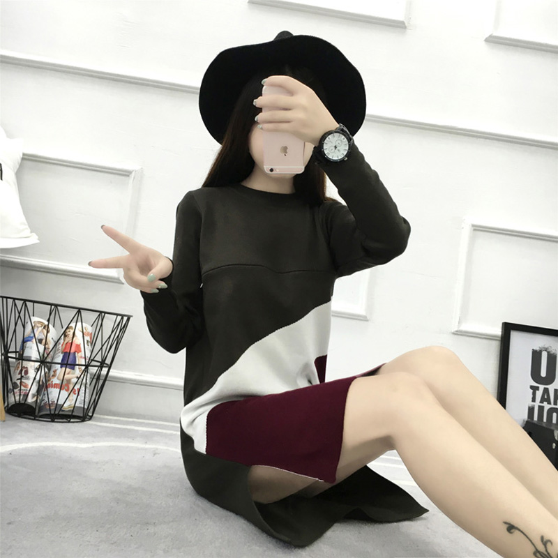 Knitted Maternity Nursing Sweater Autumn Fashion Pullover Clothes for Pregnant Women Slim Pregnancy Clothing Feeding Dress C376 autumn winter new pregnant women sweater thickening slim package hip warm clothing knitted shirt maternity sweaters
