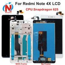 Xiaomi Redmi Note 4X Note 4 Phiên Bản Toàn Cầu Màn Hình LCD Cảm Ứng Bộ Số Hóa Có Khung Snapdragon 625 Xiaomi Redmi Note 4x Màn Hình LCD