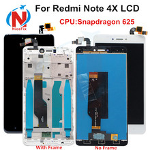 Xiaomi redmi note 4X Note 4 Global Version LCD screen display touch digitizer with frame Snapdragon 625 xiaomi redmi Note 4x Lcd cheap Capacitive Screen 1920x1080 3 For xiaomi redmi note 4X LCD Touch Screen Digitizer white black gold 12 months Tested one by one before shipping