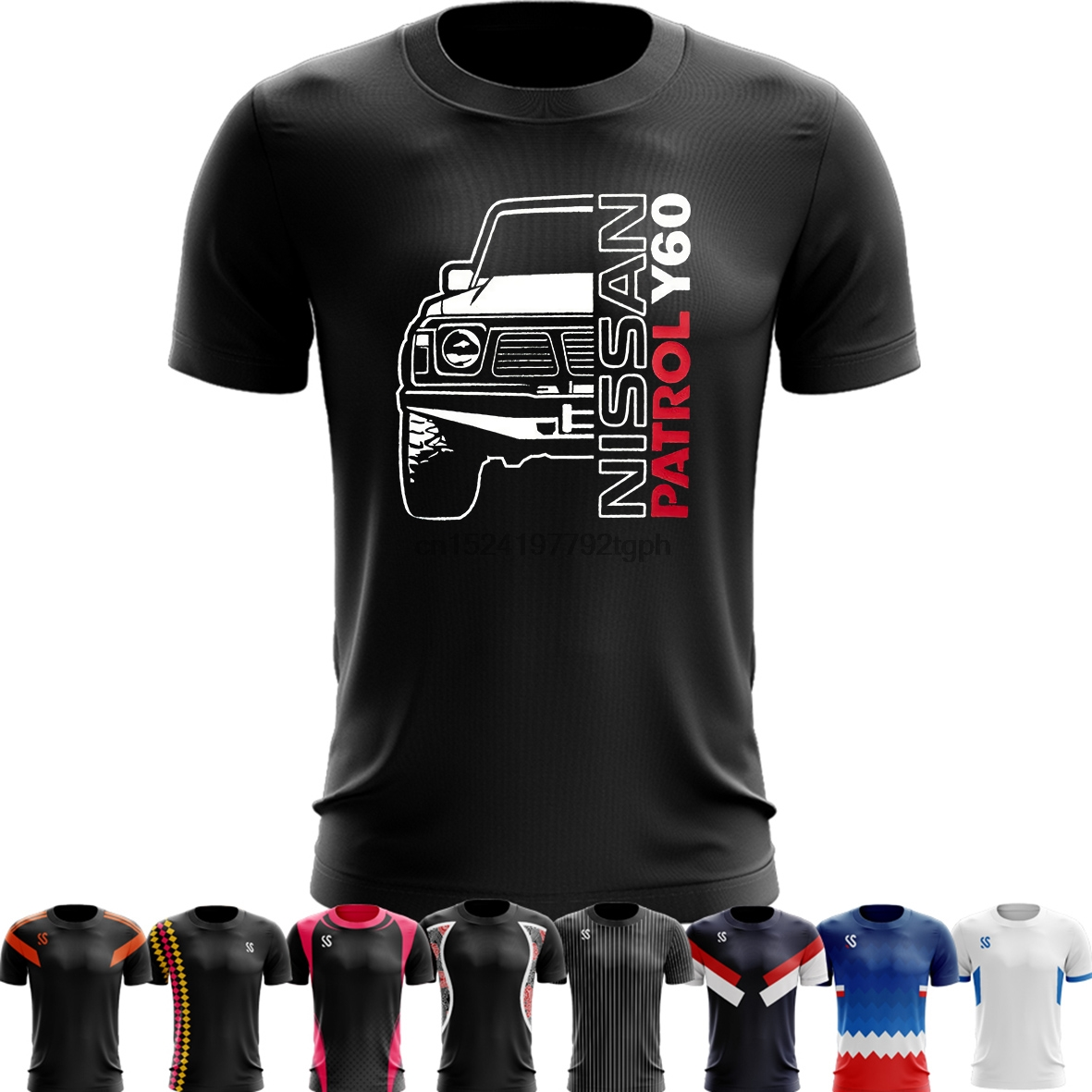 1 Nissan Patrol Premium Mens T-shirt Fashion Tee Shirt Casual Funny Tops Clothing Be Novel In Design