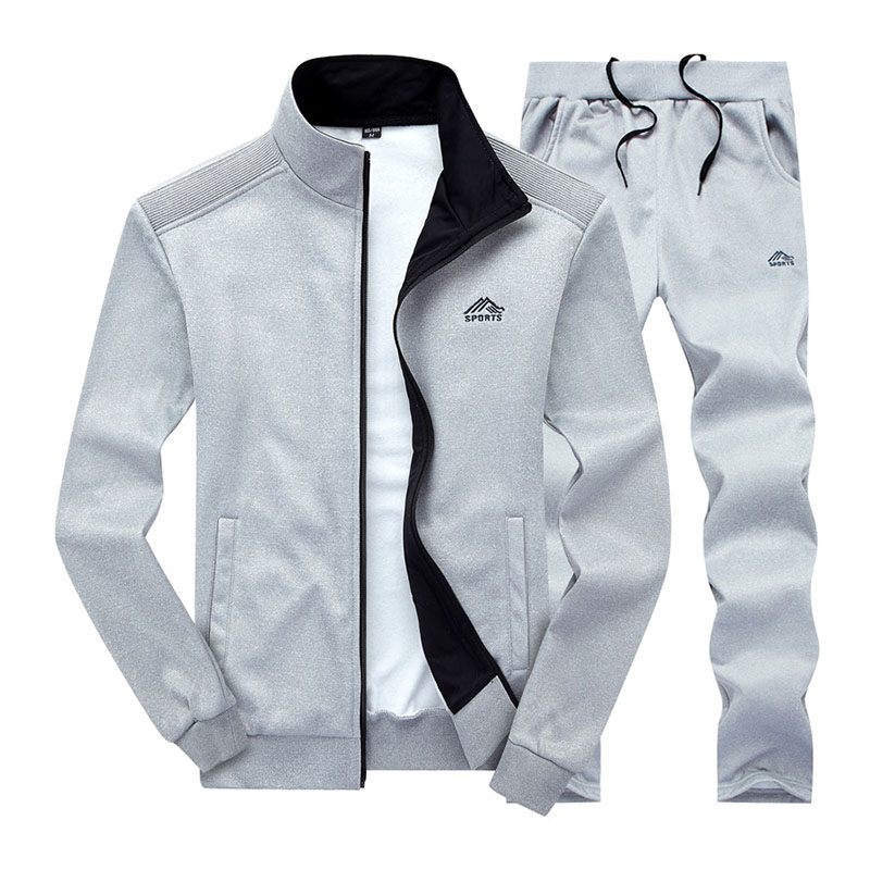 New Men's Casual Sweatshirts Suits Autumn Designer Embroidery Male Baseball Men Sportwear Leisure Suits Pull Home M~4XL BF3688