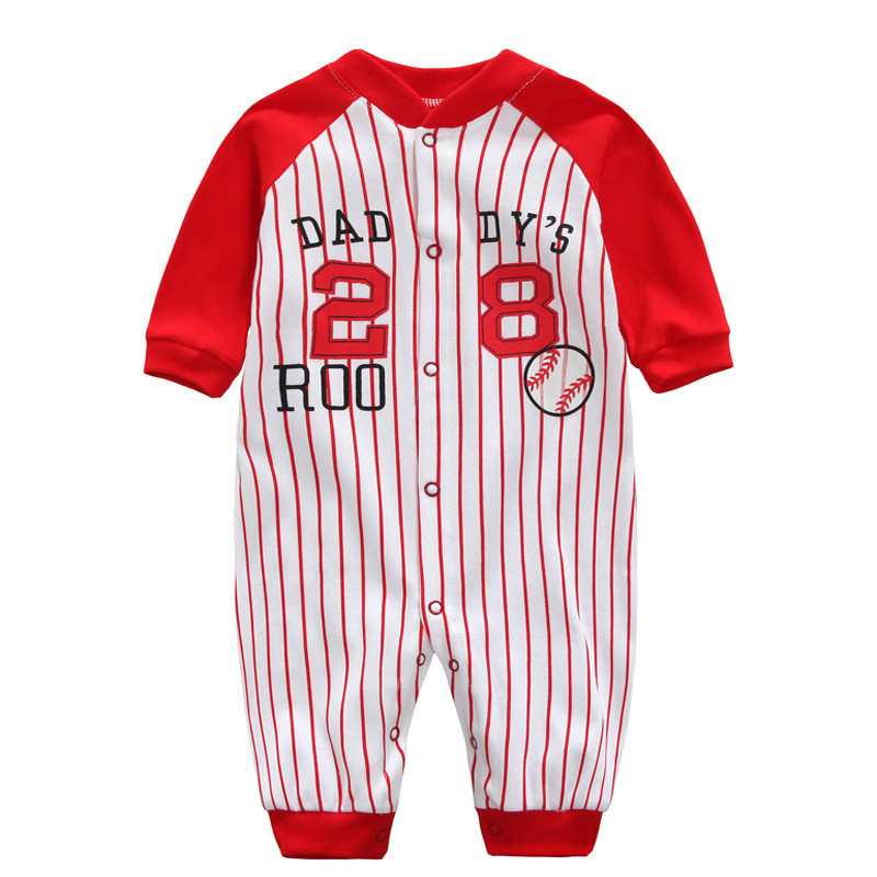 4f0230cfdac42 Long sleeve Baby boy onesie creepers Children's costumes new born jumpsuit  bebes coveralls for newborns bodysuit babies striped