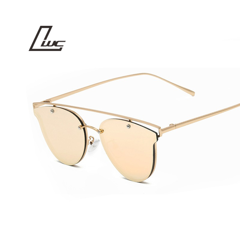 New Rose Gold Cat Eye Sunglasses s