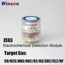 10pcs Winsen ZE03 CO/SO2/NO2/O3/H2S/CL2/O2/NH3/HF Sensor Module High Sensitivity & Resolution UART and Analog Voltage Output