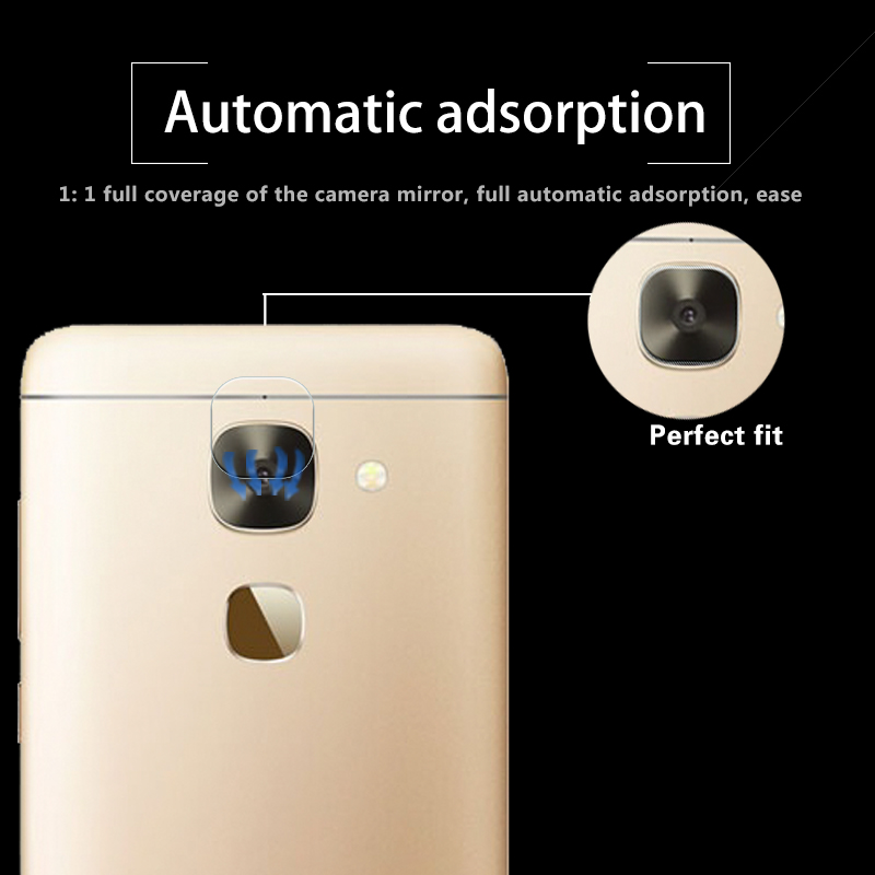 Ultra-thin Anti-shatter Back Camera Lens of Tempered Glass Film For LeEco Le S3 X622 X626 X522 Rear camera Lens Protector Film