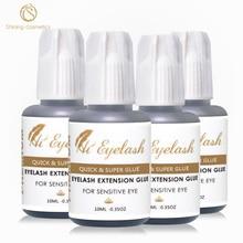 4pcs 10ml Hieyelash Hot Selling  1second Eyelash Extension Glue Professional Made In Korea Low Odor