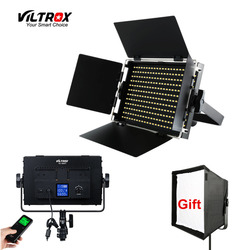 Viltrox VL-S50T 50W LED Studio Video Light Lamp Bicolor Dimmable & Wireless remote control+Reflector Diffuser for show Online