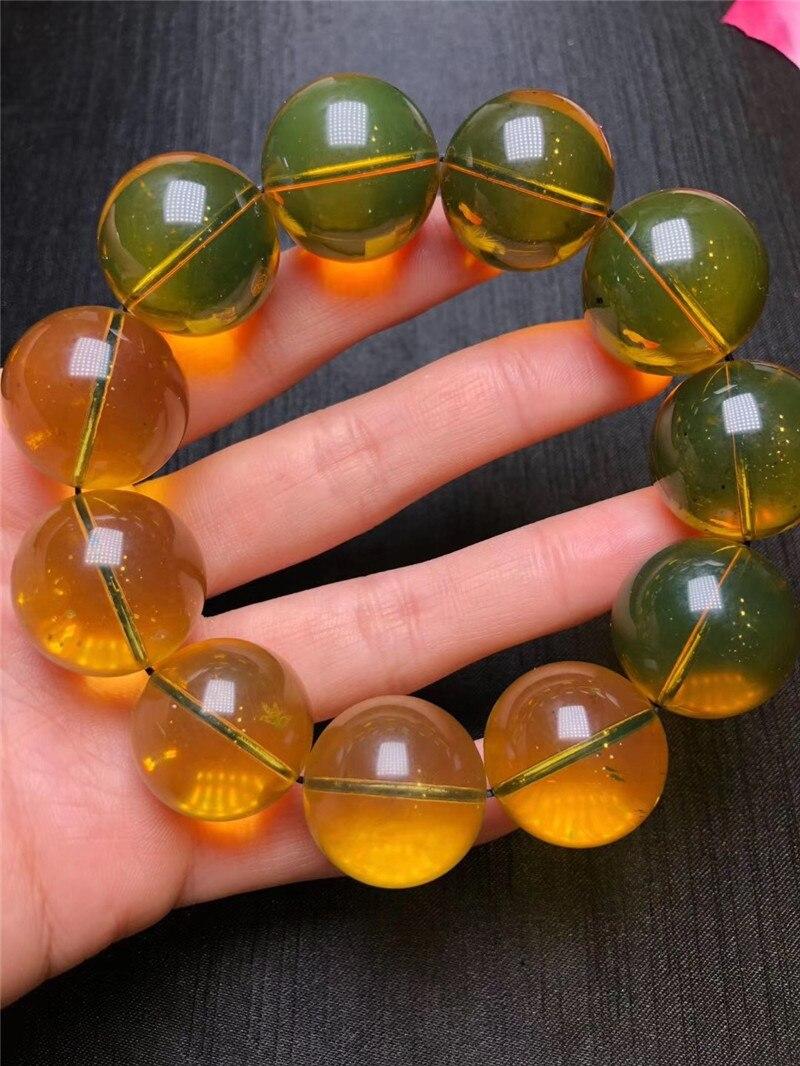 Natural Blue Amber Bracelets (5)