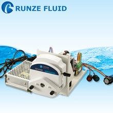 High Flow Adjustable Stepper Motor Peristaltic Pump Tubing Silicon/Rubber/Viton