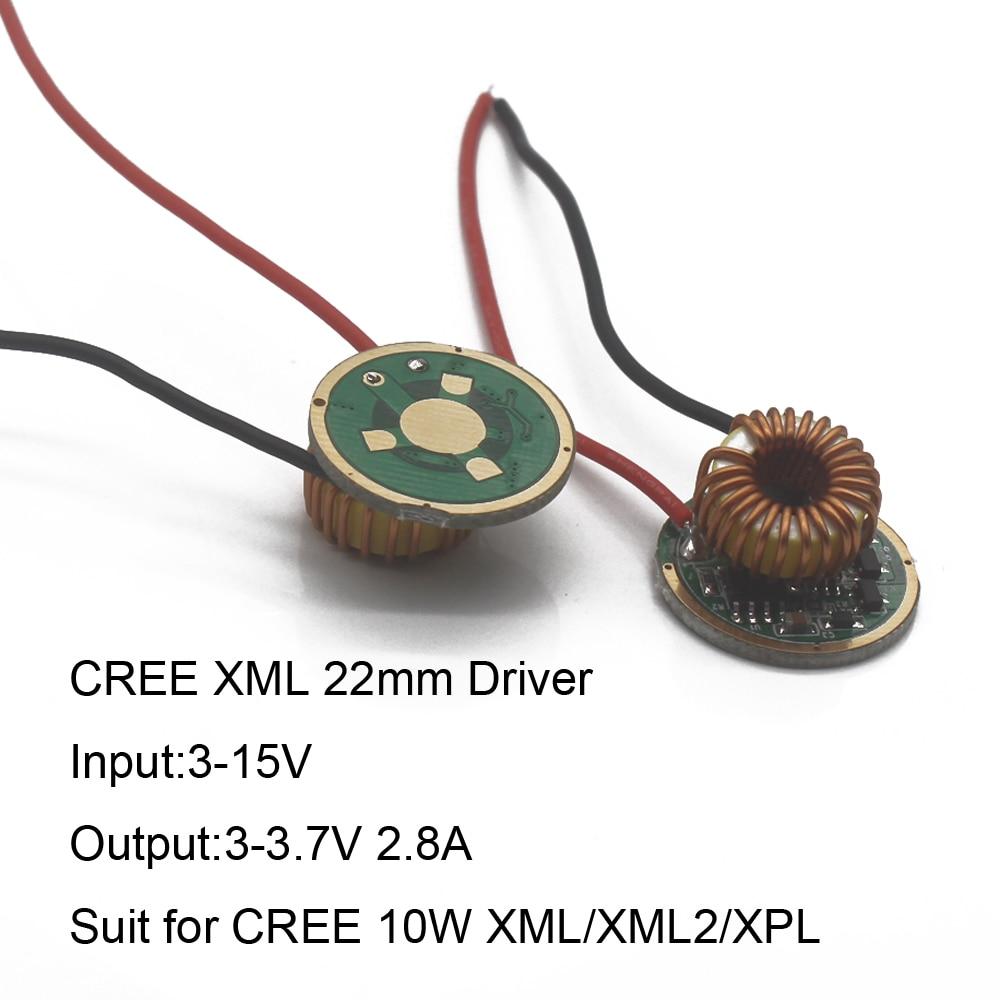 5 Mode//1Mode Constant Current 2800mA DC 12V XML T6 Led Driver For Lp