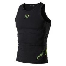 Jeansian ספורט גופיות Tanktops שרוולים חולצות ריצה Grym אימון כושר Slim דחיסת LSL3306