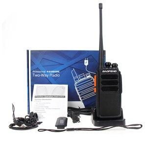 Image 5 - 2019 החדש Baofeng BF C5 בתוספת ווקי טוקי 5W UHF 400 470MHz שתי דרך רדיו נייד 16CH FM משדר CB רדיו האינטרפון