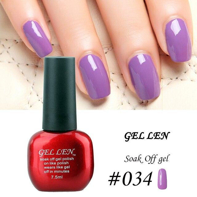 Gel Len Nail Polish Brand UV Soak Off Nail Gel Polish Long lasting ...