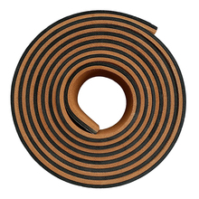 EVA Foam Teak Sheet Shockproof Boat Accessories Marine Flooring Yacht Deck Adhesive Strip Bar 94 x 2.3 inch Brown