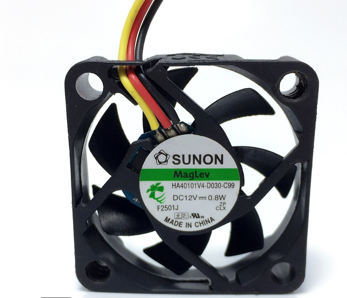 Wholesale: SUNON HA40101V4-D030-C99 4010 40x40x10mm 4cm 0.8W 3-line Projector Silent Cooling Fan