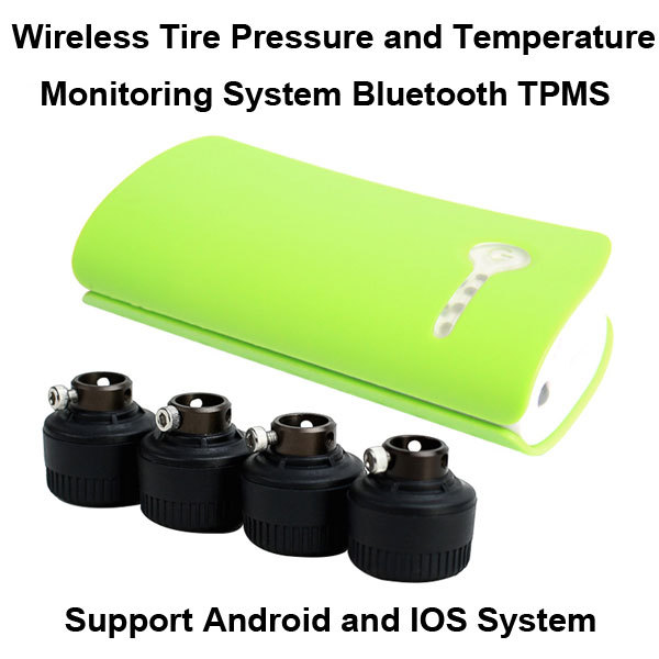 Bluetooth TPMS for Andriod Phone and font b iphone b font Wireless Tire Pressure Monitoring System