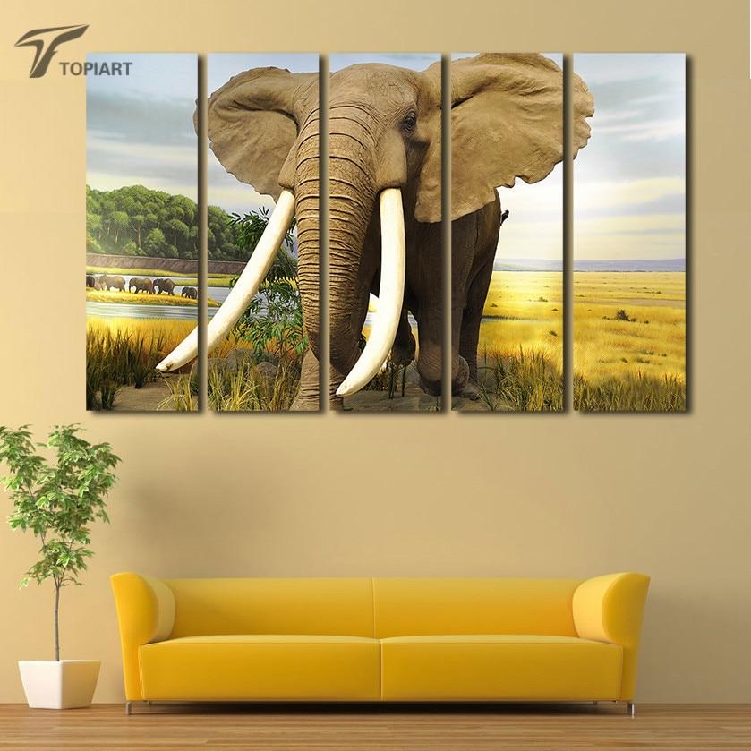 Exelent Elephant Wall Art Pattern - Wall Art Design - leftofcentrist.com
