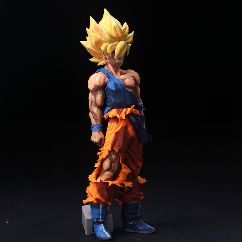 Dragon Ball Z Super Master Stars Piece The Son Goku Large Size 33CM Manga Ver. PVC Action Figure Collectible Model Toys Doll dragon ball z super big size super son goku pvc action figure collectible model toy 28cm kt3936