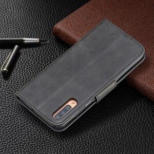 Image 3 - Винтажный Флип кожаный чехол бумажник для samsung Galaxy Note 10 Plus S10 S9 A10 A20 A30 A40 A50 A70 слоты для карт Магнитная подставка Чехол