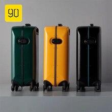 Xiaomi 90FUN Smart отпечатков пальцев разблокировки 20 дюймов Чемодан Портативный чашку Мода и красочные чемодан для Для женщин Для мужчин