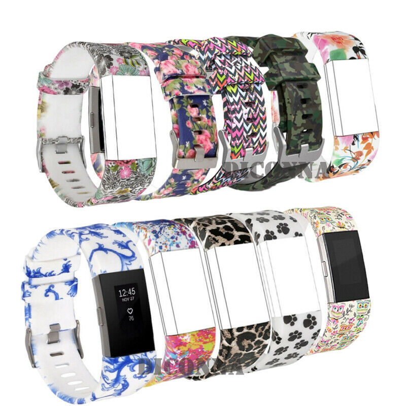 Band-Strap Fitbit-Charge Watch Soft-Silicon-Replacement Colorful for 2