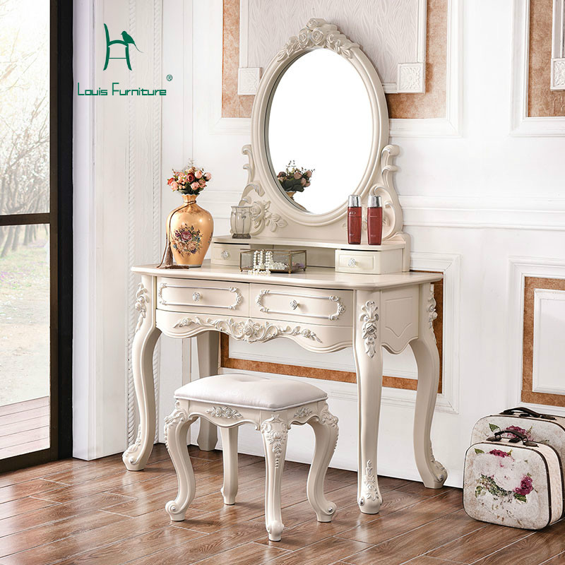 € 326.11 |Louis mode commodes européen commode chambre petite commode  princesse commode française en bois massif Dressing-in Commodes from  Meubles ...