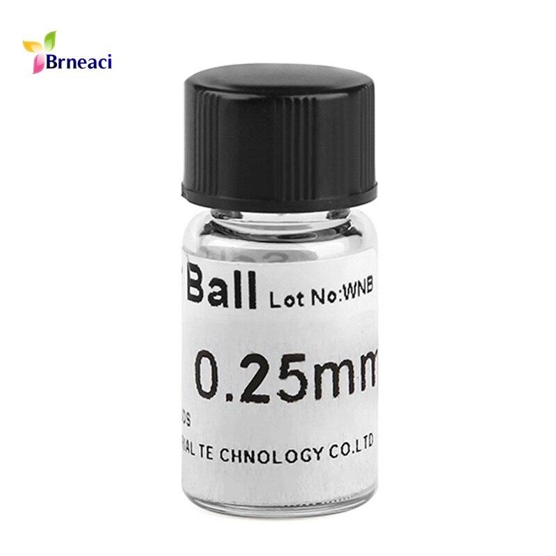 5 bottles BGA Reballing Soldering iron Solder Balls 0.35//0.45//0.55//0.65//0.76mm