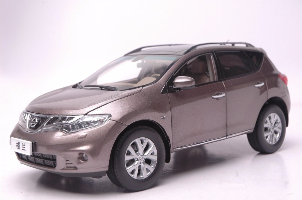 1:18 Diecast Model for Nissan Murano 2011 Brown SUV Alloy Toy Car Collection Gifts nikko машина nissan skyline gtr r34 street warriors 1 10 901584 в перми