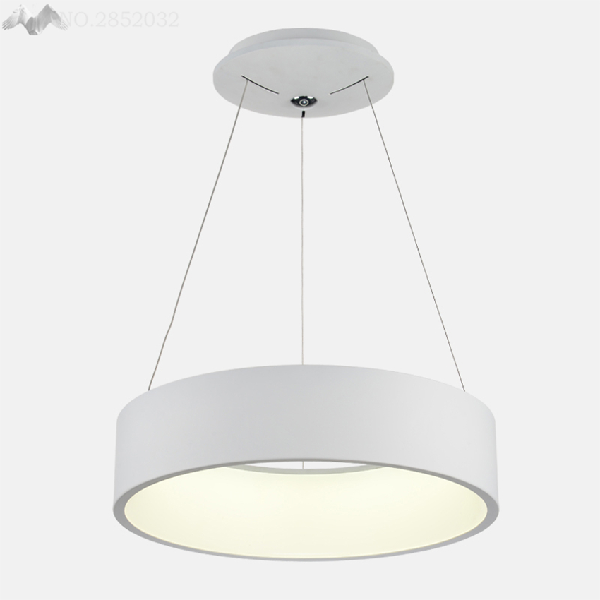 Lighting Franchise Simple Modern Round Fabric Pendant Lamp Dinning Room Warm Nordic Bedroom White Hanging Studyroom Light