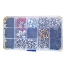 786pcs Personal Computer Screws PC DIY Screw Assortment Kit for Motherboard PC Case CD ROM Hard disk