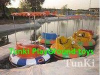 Новый воды парк Аттракционов Дети Электрическая педаль лодка с модель автомобиля