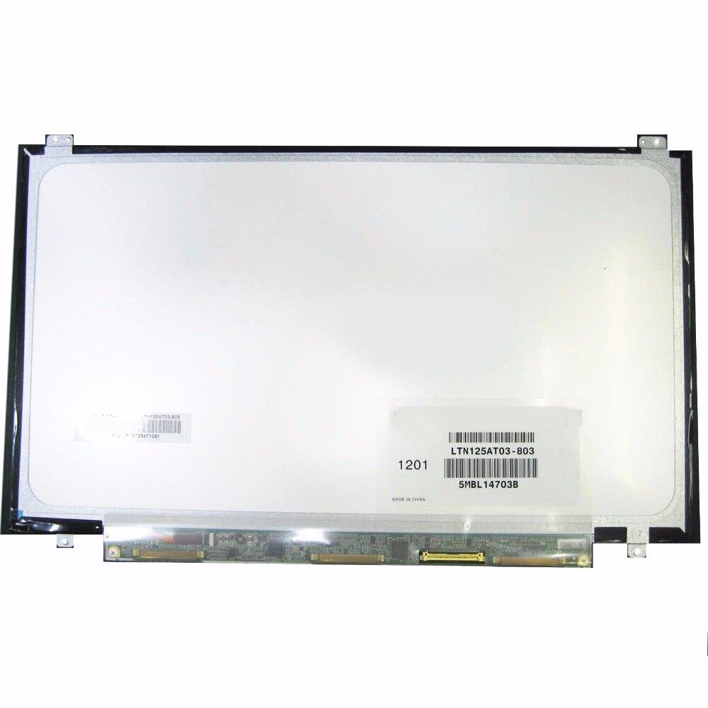 For Samsung 350U2B A04 NP400B2B NP350U2A A01 Original New LTN125AT03 LTN125AT03 803 LTN125AT03 801 laptop LCD