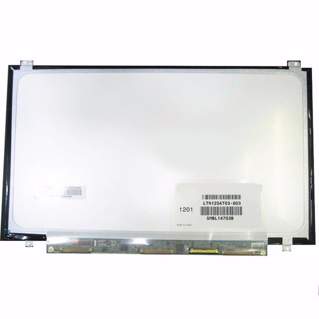 For Samsung 350U2B-A04 NP400B2B NP350U2A A01 Original New LTN125AT03 LTN125AT03-803 LTN125AT03-801 laptop LCD screen Matrix 12.5