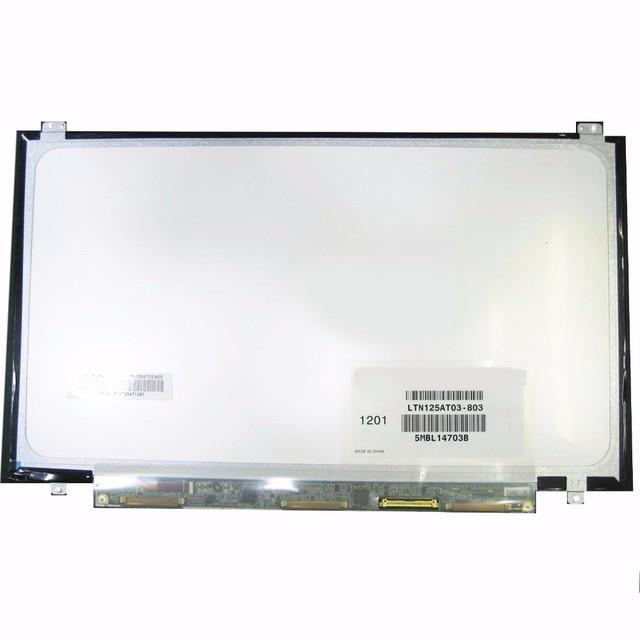 For Samsung 350U2B-A04 NP400B2B NP350U2A A01 Original New LTN125AT03 LTN125AT03-803 LTN125AT03-801 laptop LCD screen Matrix 12.5