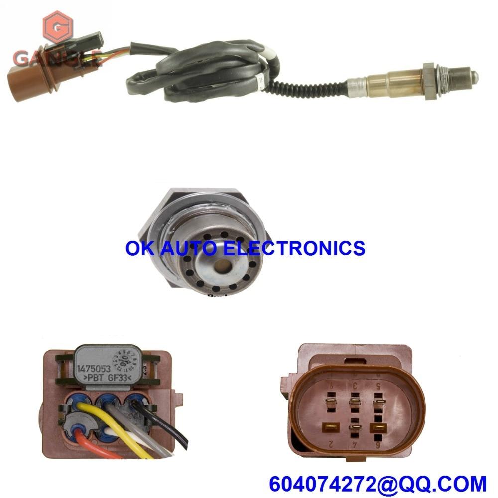 Oxygen Sensor Lambda AIR FUEL RATIO O2 sensor for AUDI Q7 VOLKSWAGEN VW GOLF TOUAREG 079906262F 1K0998262M 2004-2008 genuine oem fuel pressure sensor for audi q7 golf touareg passat cc 2 0 3 6l v6 03c906051a 51cp03 05