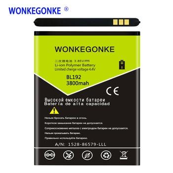 WONKEGONKE BL192 Battery for Lenovo A300 A750 A590 A680 A529 A328T A338T A505E A388T A560 Batteries Bateria