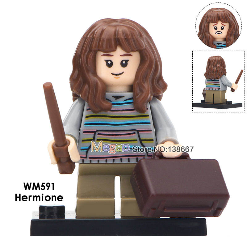 Toys & Hobbies Model Building 50 Pcs/lot Movie Series Hermione Hagrid Seamus Finnigan Bole Oliver Wood Marcus Flint Building Blocks Legoings Children Toys Bracing Up The Whole System And Strengthening It